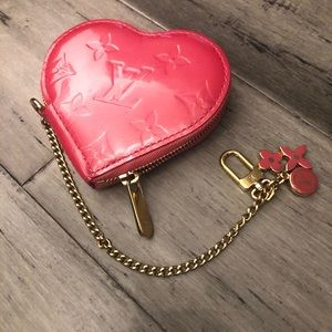 Louis Vuitton Heart shape wallet